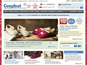 Cosyfeet website