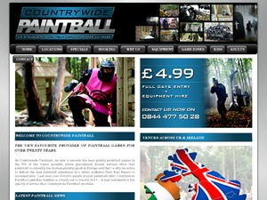 Countrywide Paintball website