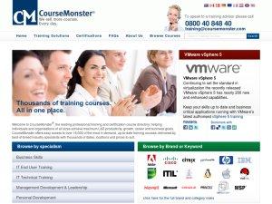 CourseMonster website
