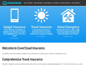 Cover Cloud website