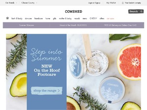 Cowshed website