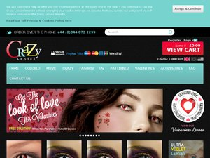 Crazy Lenses website