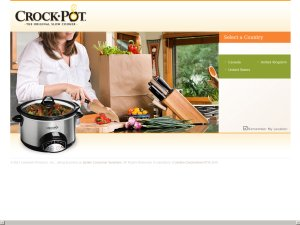 Crock-pot website