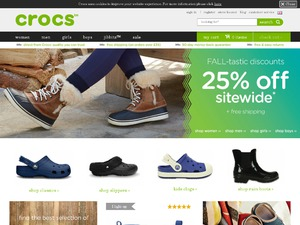 Crocs website