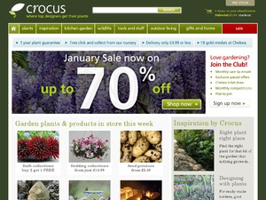 Crocus website
