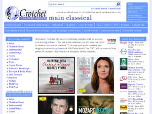 Crotchet Classical Music website