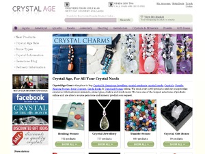 Crystal Age website