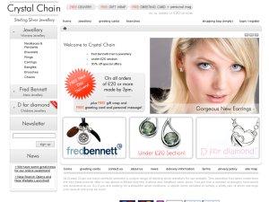 Crystal Chain website