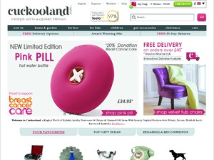 Cuckooland website