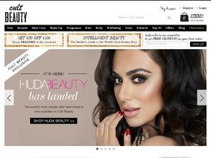 Cult Beauty website