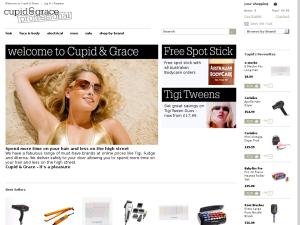 Cupid & Grace website