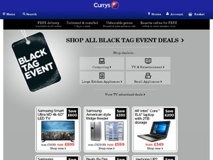 Currys website