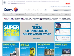 Currys IE website