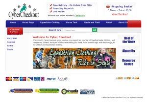 Cybercheckout website