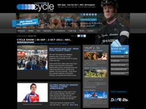 Cycle Show website
