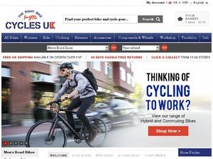 Cycles UK website