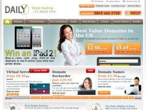 Daily.co.uk website