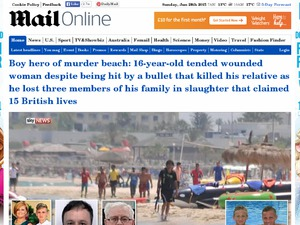 Daily Mail website