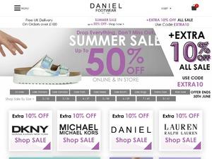 Daniel Footwear website
