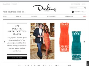Darling Clothes website