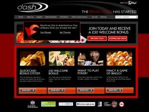Dashcasino.com website