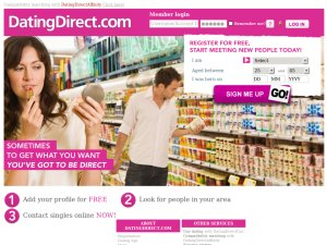 Dating Direct website