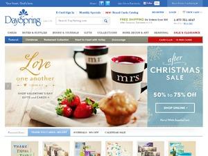 DaySpring website