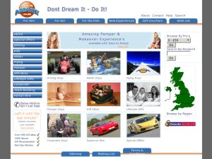 Days To Amaze website