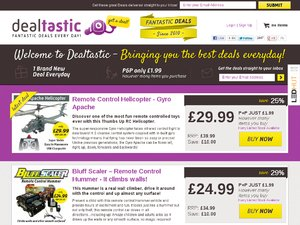 Dealtastic website