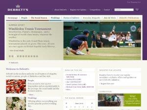 Debretts website
