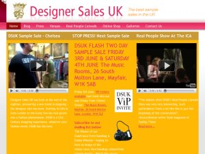 DesignerSales (DSUK) website
