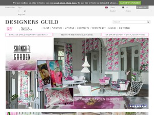 Designers Guild website