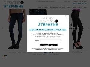 Designs By Stephene website