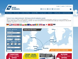 DFDS Seaways Affiliates website