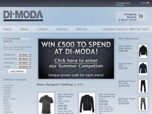 Di-Moda website