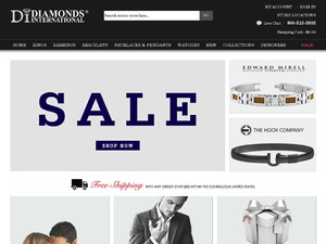 Diamonds International website