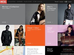 DIESEL website