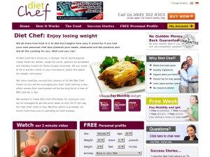 Diet Chef website