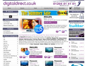 Digital Direct website