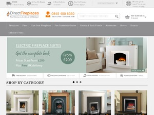 Direct Fireplaces website