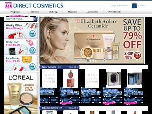 Direct Cosmetics website