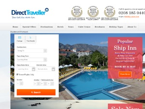 Direct Traveller website