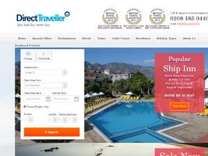 Direct Traveller website