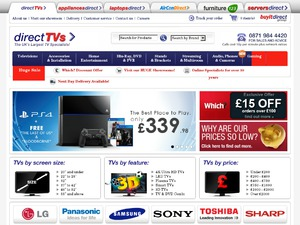 Direct TVs website