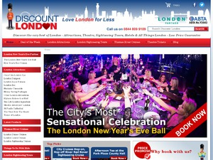 Discount London website