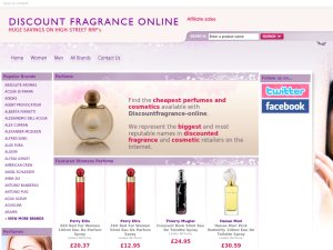 The Fragrance Company website