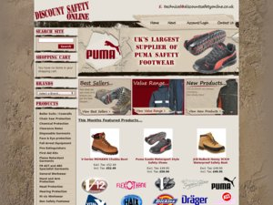 Discount Safety Online website
