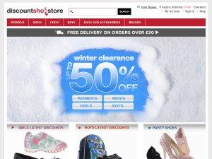 Discount Shoe Store website
