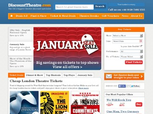 Discount Theatre website