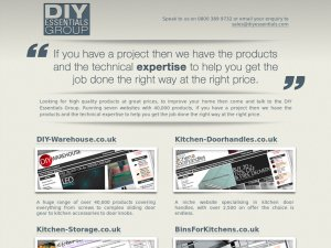 DIY Essentials website